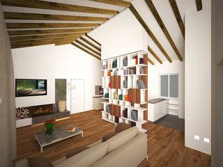 Residenza al Duomo B+P architetti Soggiorno moderno
