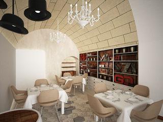 CERAMARA B+P architetti Gastronomia in stile eclettico