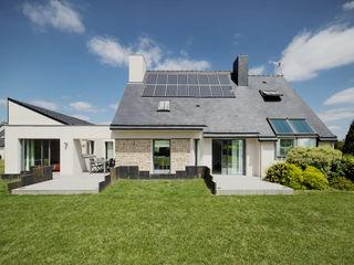 Extension et rénovation O2 Concept Architecture Maisons modernes Pierre Blanc
