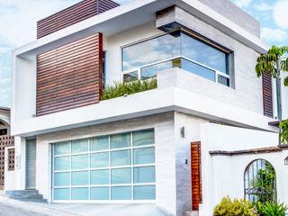 SZTUKA Laboratorio Creativo de Arquitectura Modern houses Concrete Wood effect