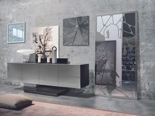 BandIt Design ВітальняШафи і серванти Залізо / сталь Металевий / срібло