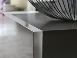 BandIt Design Коридор, коридор і сходиВисувні ящики та полиці Залізо / сталь Металевий / срібло