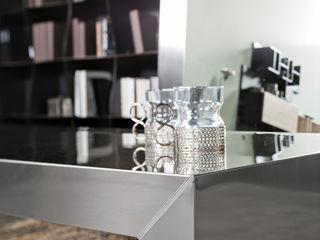 BandIt Design ВітальняСтолики та лотки Залізо / сталь Металевий / срібло