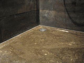 AGZ badkamers en sanitair BañosBañeras y duchas Cerámica Negro