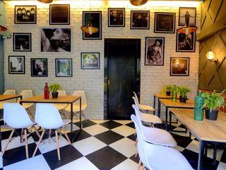 CAFE IN MUMBAI HK ARCHITECTS Bars & clubs