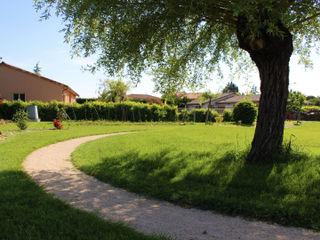 JEUX SUR CHEMIN Constans Paysage Jardin rural
