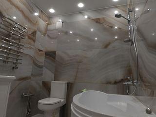 Студия интерьерного дизайна happy.design Eclectic style bathroom