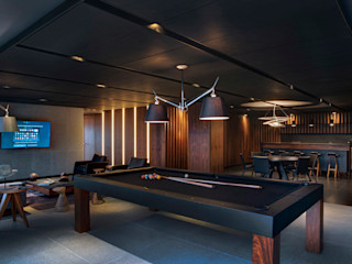 RIMA Arquitectura Salon moderne Béton