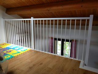 Una scala tutta bianca per una cameretta da sogno maurizioborri Stanza dei bambini in stile classico