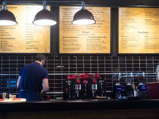 Reformanda - Barra de café Taller La Semilla Gastronomía de estilo industrial Negro
