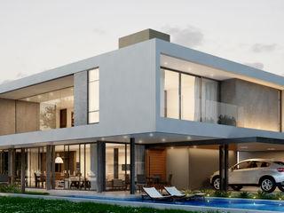 Martins Lucena Arquitetos Minimalist houses