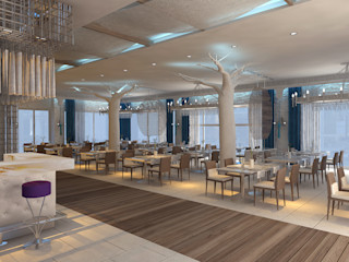 Mimoza Mimarlık Modern dining room