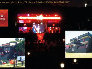 RedBee Event Venue Modern Besi/Baja Black