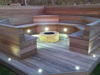 Ayrshire outdoor living Lithic Fire Сад Піщаник