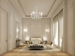 Exploring Luxurious Homes : Elegant Bedroom Design IONS DESIGN Minimalist bedroom Wood White