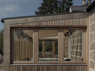 House Extension & Alterations, Aberdeenshire ABN7 Architects Jardines de invierno de estilo moderno