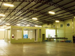 Logi Arquitetura Bangunan Kantor Gaya Industrial