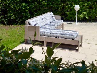 2nd Chance Créations Balconies, verandas & terraces Furniture خشب Wood effect