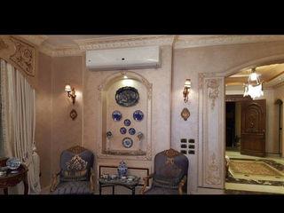 Royal designs Modern living room Copper/Bronze/Brass Amber/Gold