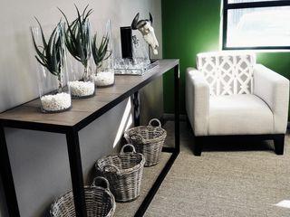 GSI Interior Design & Manufacture Edificios de oficinas de estilo minimalista Metal Gris