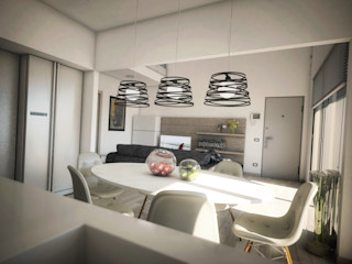 House A6 Ivan Rivoltella Cucina moderna