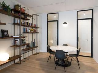 Ostiense House #02 Manuela Tognoli Architettura Sala da pranzo moderna