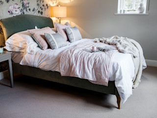 Colourful Transformation Lauren Gilberthorpe Interiors Eclectic style bedroom