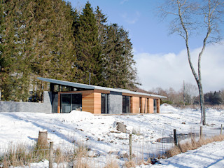 Cairngorms House Brown & Brown Architects Casas modernas Madera