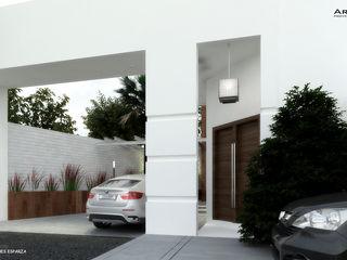arquitecto9.com Modern Houses Concrete White