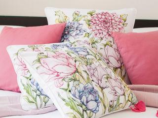 Loredana Vingelli Home Decor BedroomTextiles Natural Fibre Pink
