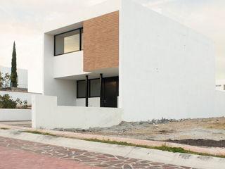 Región 4 Arquitectura Minimalist house Bricks White
