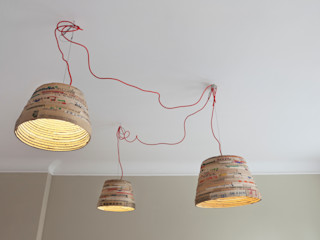 Birgit Glatzel Architektin Dressing roomLighting Paper Beige