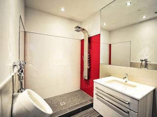 Lustrolite High Gloss Acrylic Wall Panels The London Tile Co. Pareti & PavimentiRivestimenti pareti & Pavimenti Rosso