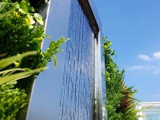 South Kensington roof terrace Paul Newman Landscapes 露臺