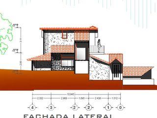 Arquitecto Eduardo Carrasquero Rustic style houses