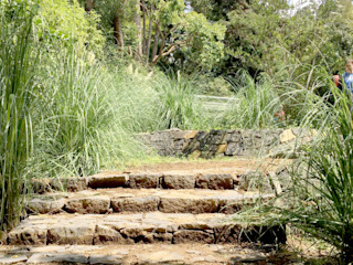 Paisaje Radical Modern Garden Brown