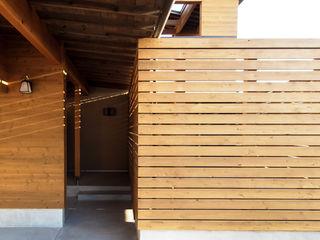 AtelierorB Moderne Häuser Holz Holznachbildung