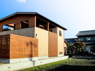 AtelierorB Moderne Häuser Braun