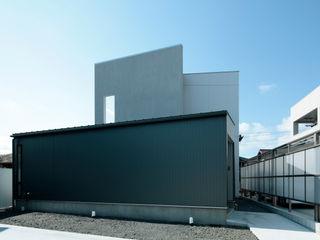 AtelierorB Moderne Häuser Grau