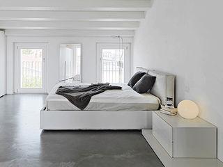Modernes Wohnen - Minimalistisch Homemate GmbH Minimalistische Schlafzimmer
