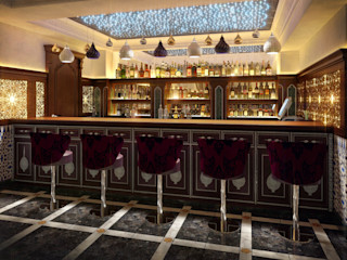 Sweet Home Design Asian style bars & clubs