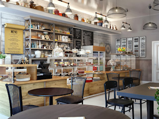 Sweet Home Design Industrial style gastronomy