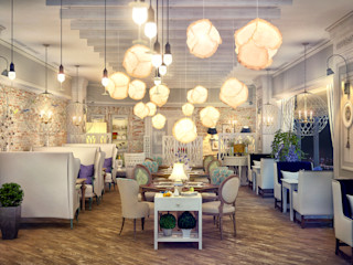 Sweet Home Design Eclectic style gastronomy