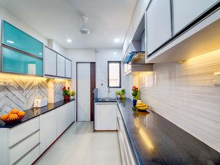 Saar Interior Design Dapur Gaya Eklektik Multicolored