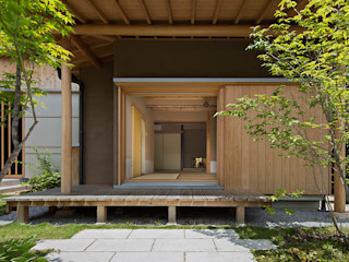 AMI ENVIRONMENT DESIGN/アミ環境デザイン Asiatische Fenster & Türen