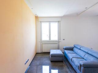 Linear Celing Luca Bucciantini Architettura d' interni Soggiorno minimalista