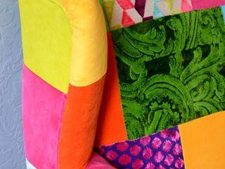 Juicy Colors WohnzimmerSofas und Sessel Baumwolle Mehrfarbig
