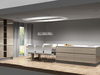 Amplitude - Mobiliário lda Cocinas modernas Tablero DM Beige