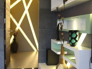 4th axis design studio SoggiornoSupporti TV & Pareti Attrezzate Bianco