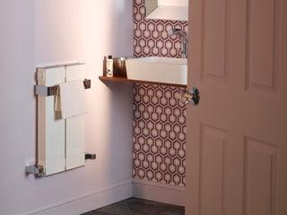 Radiators for small bathrooms Feature Radiators حمام الألومنيوم / الزنك White